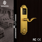 Bonwin Intelligent Hotel Smart Door Locks Unlocked by Smartphone/Card/Computer