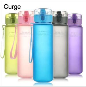 2017 hot selling 400ml 560ml BPA Free Leak Proof Sports Water Bottle High Quality Tour Hiking Portable water Bottle