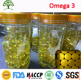 Private Label Regulation of Blood System Food Supplements Fish Oil Softgel Capsule