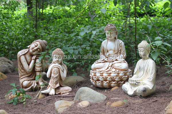 Garden outdoor ornaments wholesale laughing buddha
