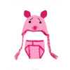 2017 Yiwu wholesale pink pig baby hat