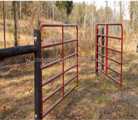 Steel pipe farm gates welded wire mesh chain