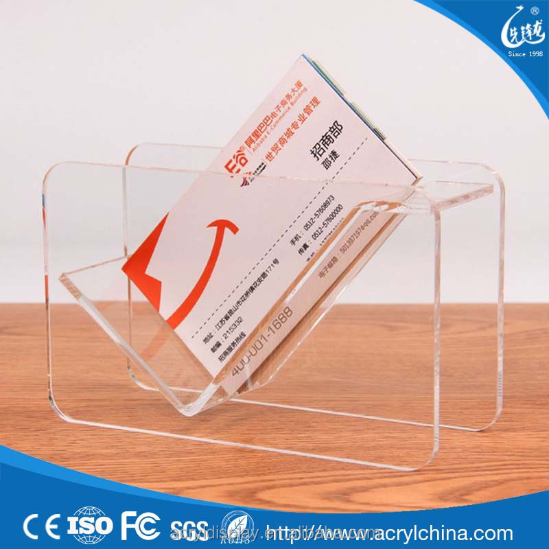 Acrylic business card display stand acrylic business card display acrylic business card display stand acrylic business card display stand suppliers and manufacturers at alibaba reheart Images