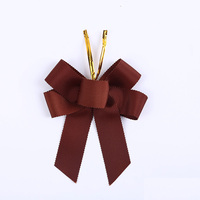 Factory Supplier Ribbon Bows For Perfume Packaging Wine Bottle Bow Pre-Tied Bow