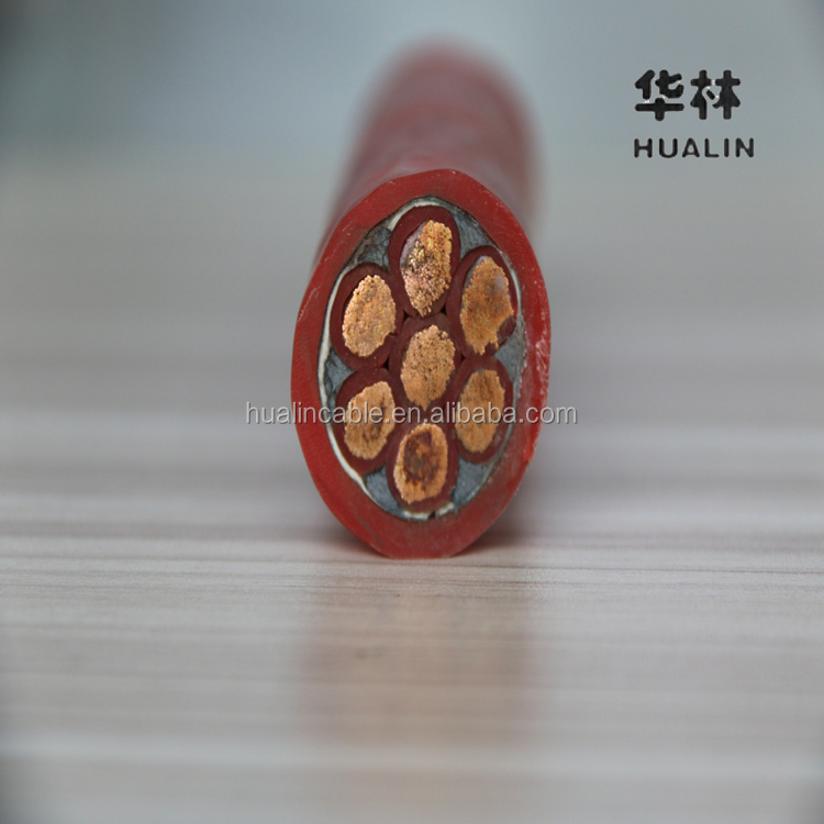 0.6/1KV 7*16mm2 Silicon Rubber Electric Cable