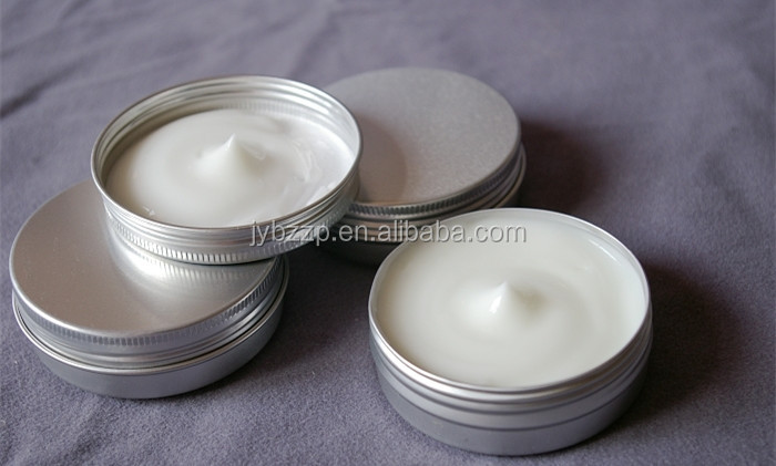 hand cream aluminium container/jar/cans,aluminum cosmetic tin,100g metal tin containers