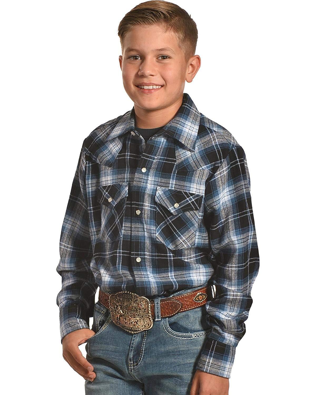 082176d1730 Buy Ely Cattleman Mens Assorted Plaid Or Stripe Short Sleeve Western ...