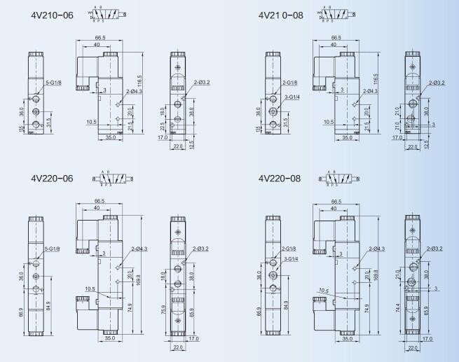 HTB1OfFfJFXXXXXEXVXXq6xXFXXXm 4v210 08 two position five way pneumatic solenoid valve buy airtac 4v210-08 wiring diagram at soozxer.org