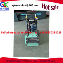 Plastic runway refurbishing processor