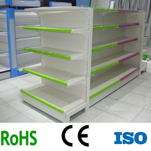 Low price China Factory direct sale beautiful supermarket gondola shelving / store shelf