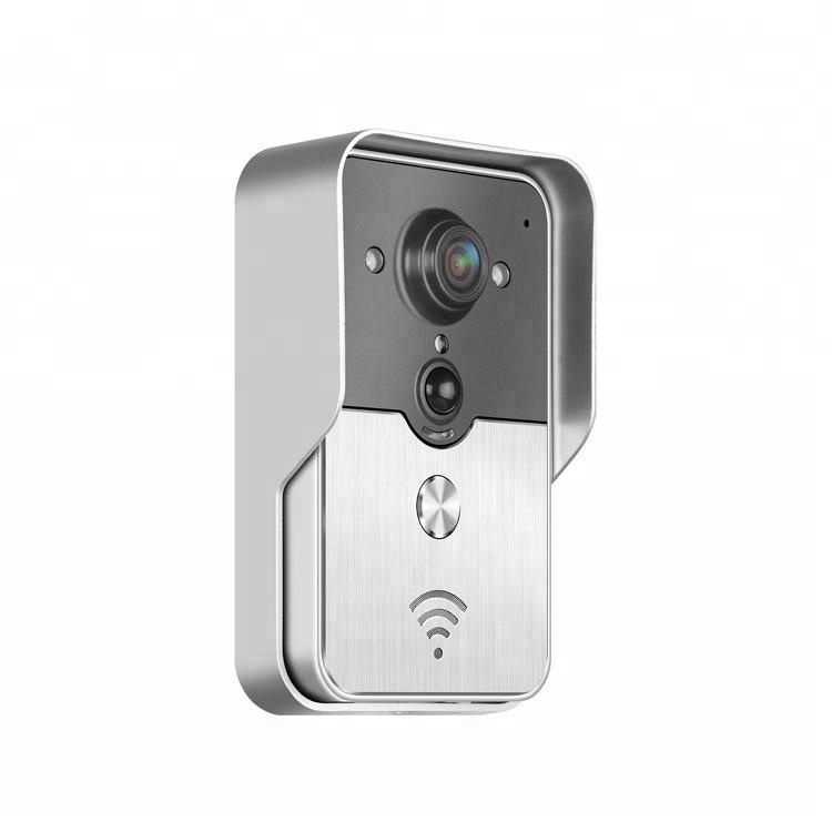 Vitevision Home Security Night Vision WIFI Wireless IP Door Bell Video Peephole Camera with PIR Detection