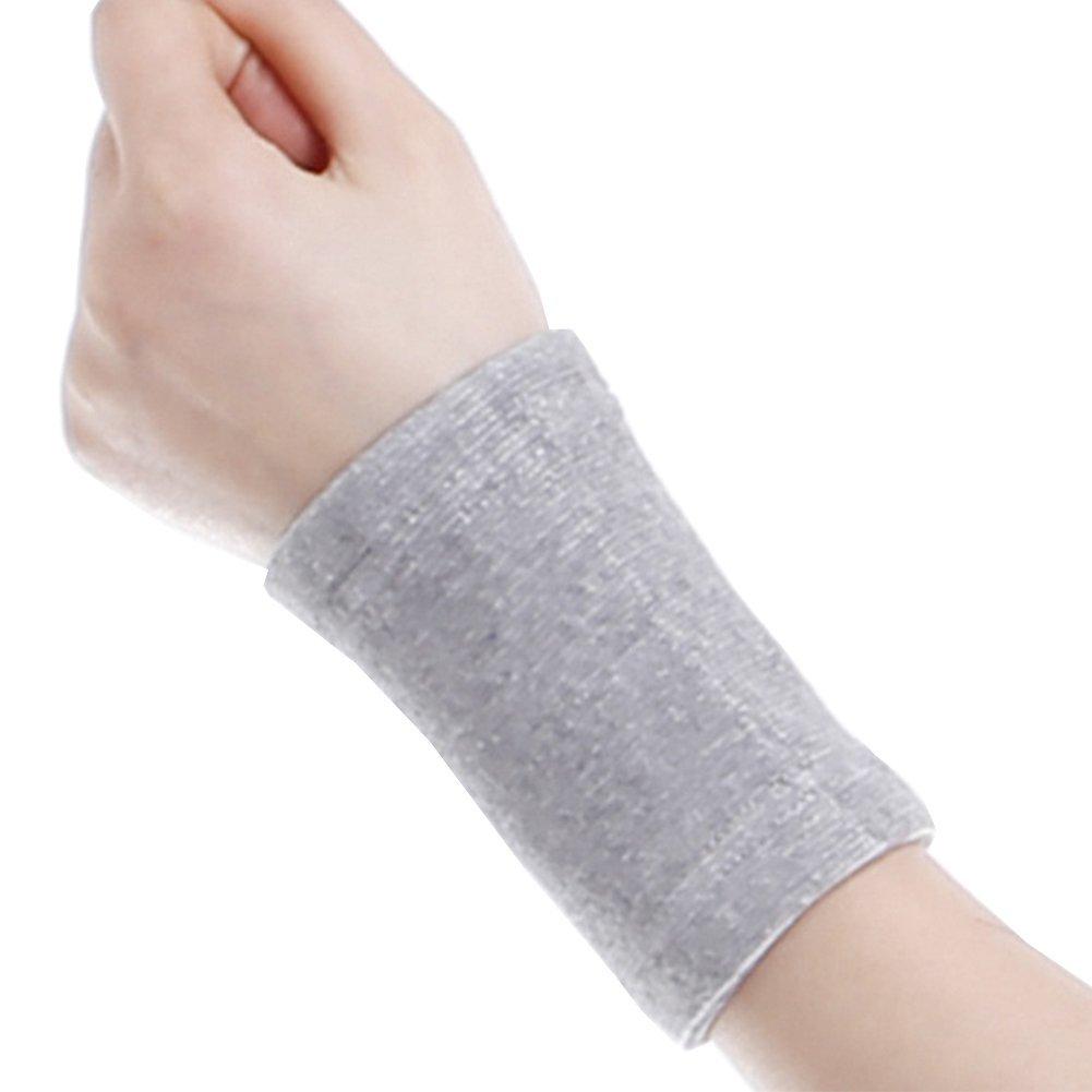 CHUANGLI Elastic Bracers Wrist Support Protection Bamboo Charcoal Wrist Band Ultra-thin Wristband