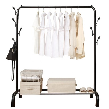 Metal Garment Cloth Display Rack Hanging Stand Clothes For Living Room Or Store