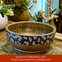 Middle East style ceramic sanitary ware wash basin pictures