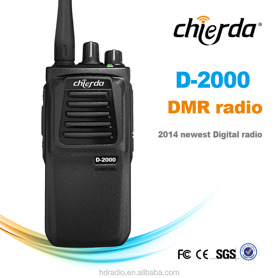 2015 tour guide speaker two way digital radio with radio transmisor for car dealership CD-D2000