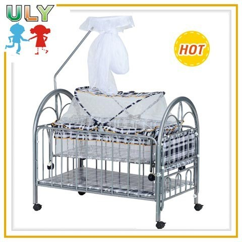 Foldable Infant Cot Newborn Baby Bed With Cradle Mosquito