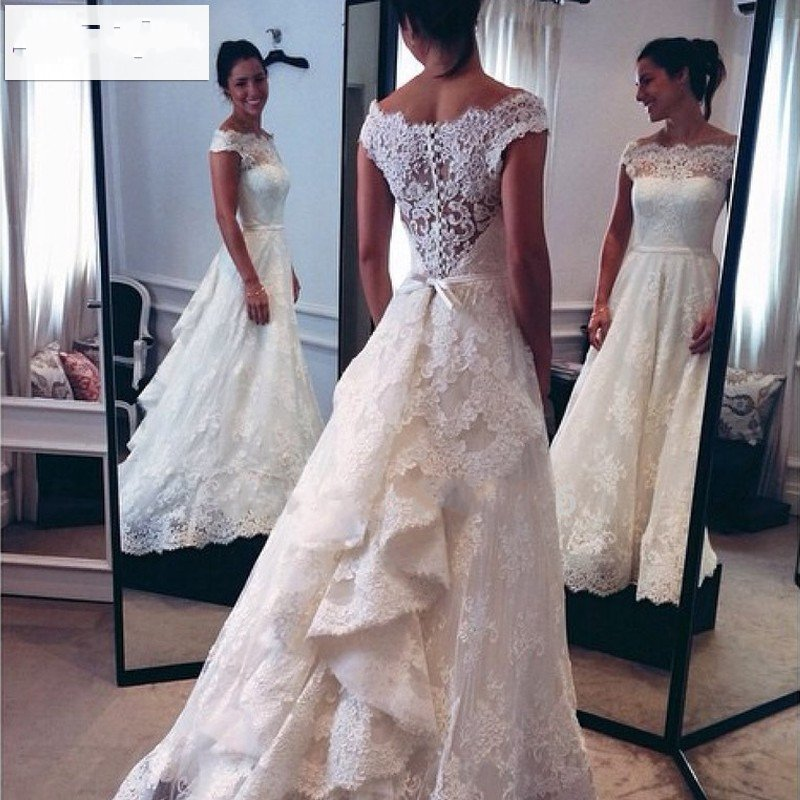 Brazilian lace wedding dresses