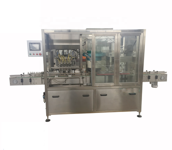 Customized Powerrig machinery PWG-ZXS-8 ketchup filling machine for glass and plastic bottle