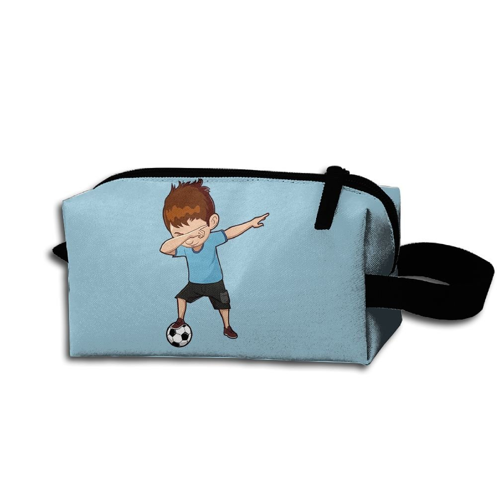 34aab647f7 Get Quotations · Unisex Cool Boy Play Football Portable Buggy Bag Hanging Travel  Bag Makeup Toiletry Bag Multifunction Cosmetic