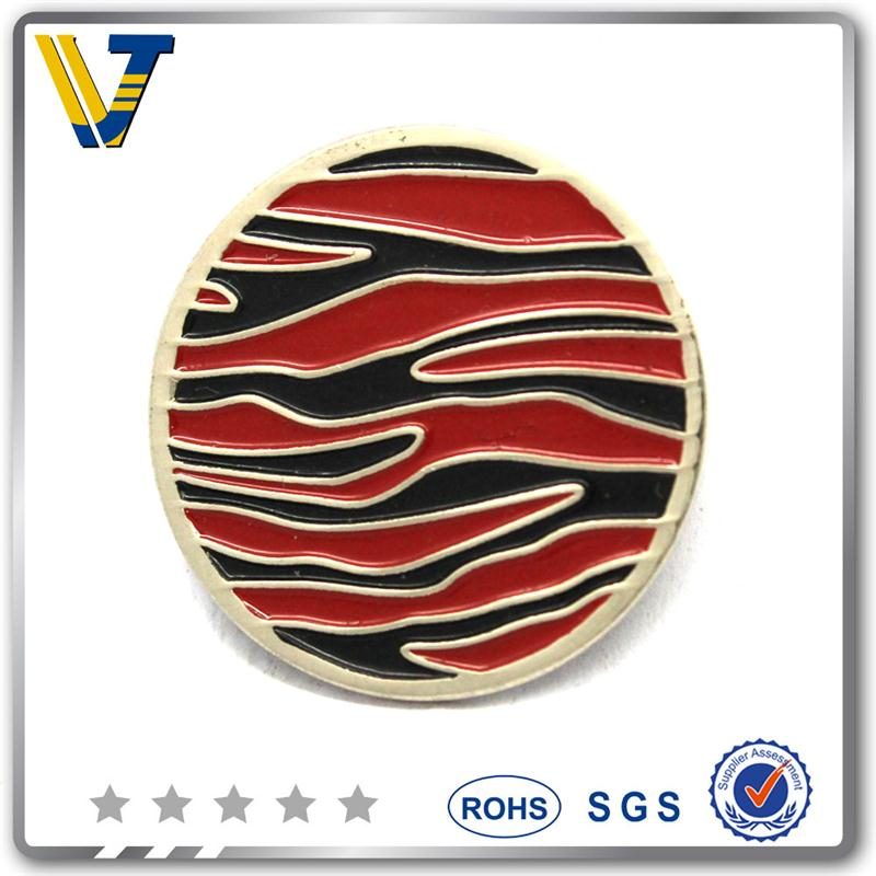 hot sales custom magnetic golf ball marker with low price