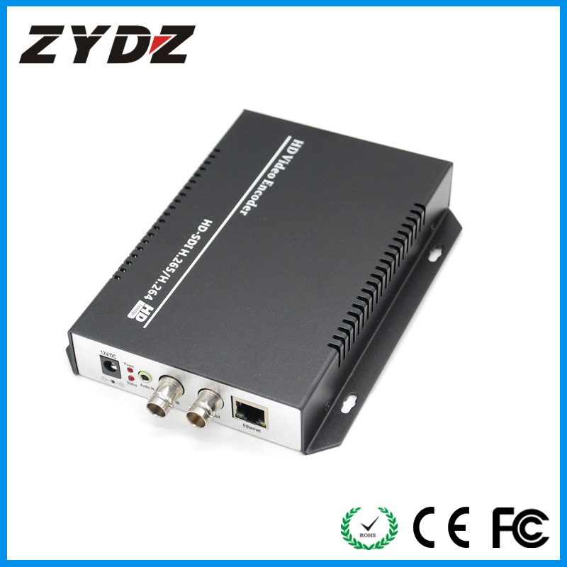 the mainstream and side stream use different network protocol for transmission sdi encoder H.264