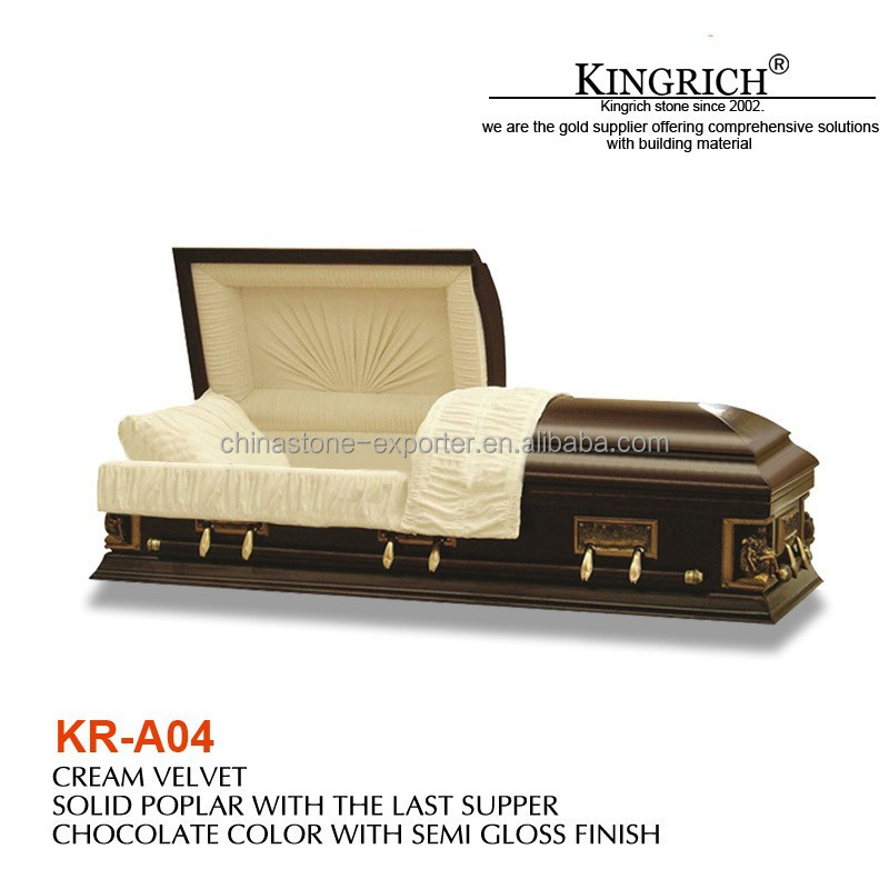 China cheap wood coffin, American style Coffin Casket, coffin sales