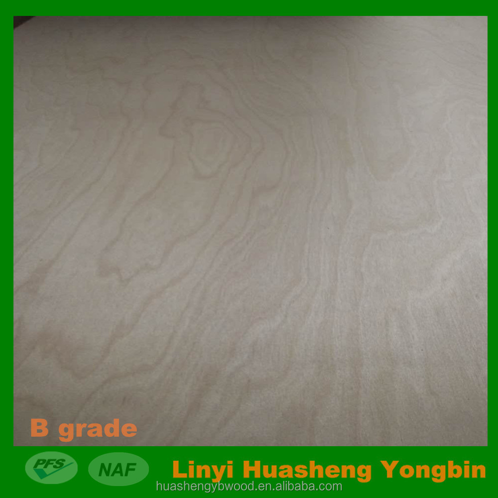 18mm birch plywood for USA market Carb P2