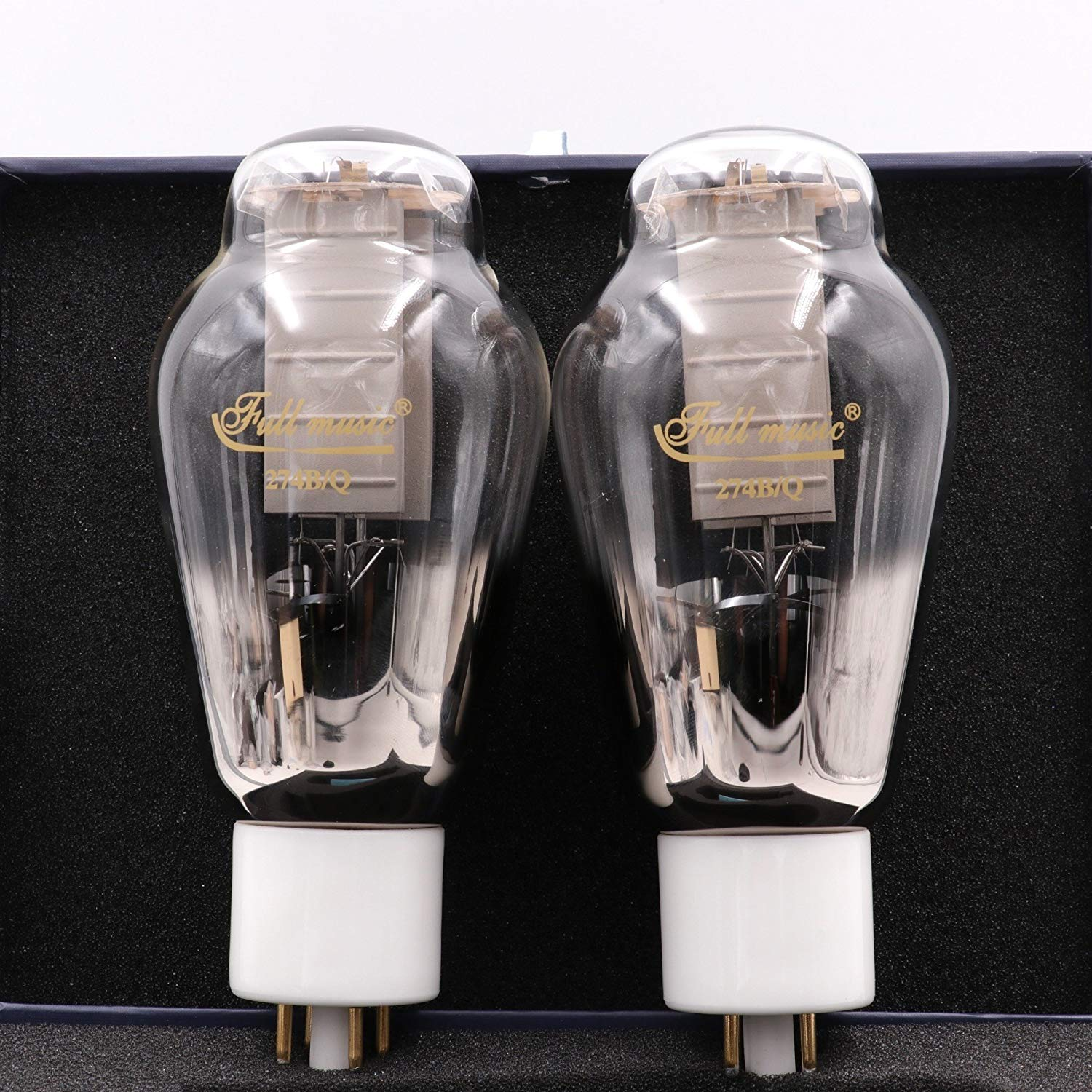 GD-PARTS Matched Pair TJ Fullmusic 274B/Q Rectifier Vacuum Tube Replace 274B 5U4G 5AR4 Hifi Vintage Audio AMP DIY