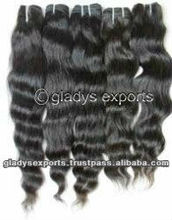 Factory Price Wholesale Virgin Indian Hair in Loose Wave Patterns