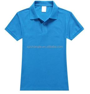 Custom mens Polo t-shirt 180-260gsm bulk blank custom logo polo shirt