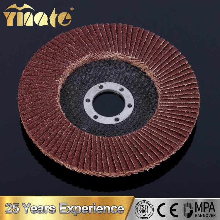 High Safeness Fiber Flap Grinding Wheels Sanding Disc For Auto Industry