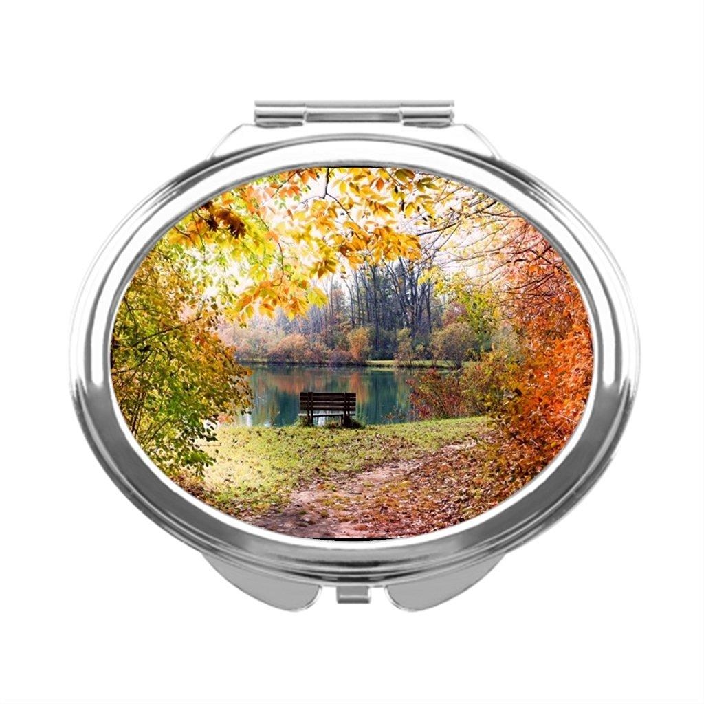 white0 Autumn Colorful Makeup Mirror
