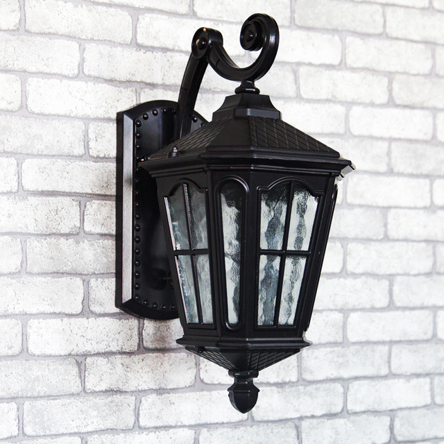 China iron outdoor light wholesale alibaba polycarbonate garden lights outdoor wall lamps china supplier outdoor light head cast iron garden wall lamp aloadofball Image collections