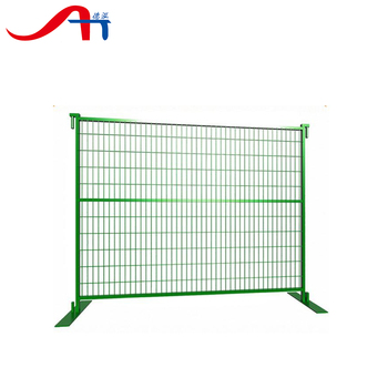 Construction Temporary Fence Panels / Galvanized Temporary Mobile ...
