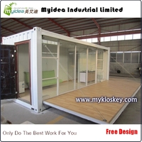 China manufacture prefab shipping container homes for sale