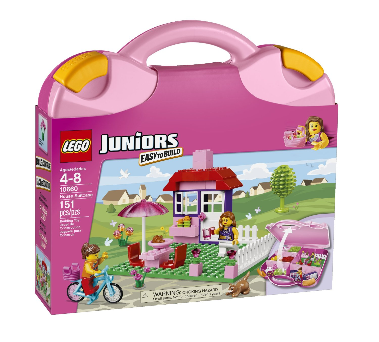LEGO Juniors 10660 House Suitcase