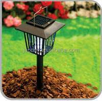 solar lights with mosquito repellent insect zapper (JL-8902)