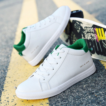 fbbf0f31756 2017 New Style High Quality Plain Men s Canvas White Shoes Casual Shoes