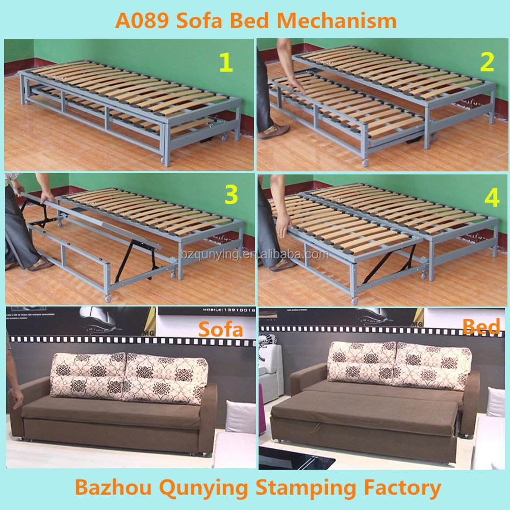 Pulled Out Sofa Bed Mechanism Frame A089   Buy Sofa Bed Mechanism