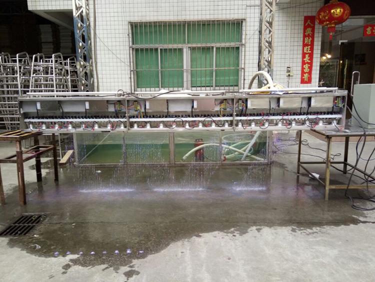 Wasser Magnetventil für Outdoor Indoor Hochzeit Brunnen Grafische Wasserfall Vorhang