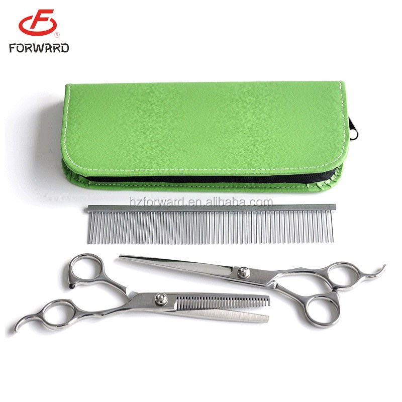 Different types of pet dog grooming scissors for sale