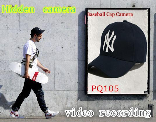 baseball cap camera hidden style pinhole technology camcorder spy clip