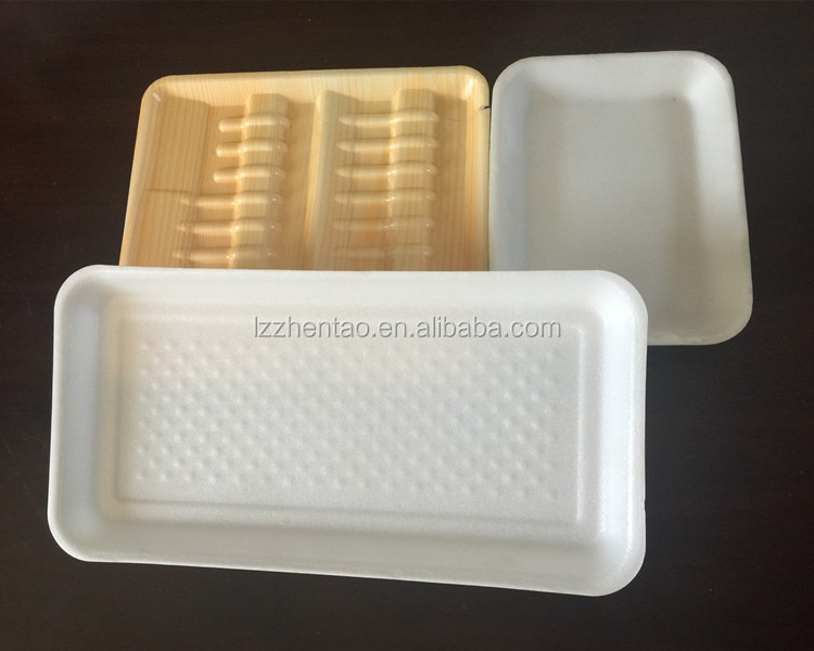 Pe Foam Strawberry Serving Tray Plastic Insert Disposable