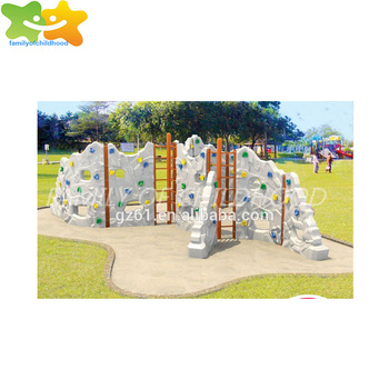 kids plastic rock climbing wall price outdoor games price for sale