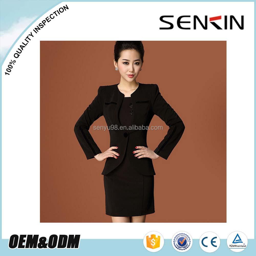 women skirt suit office lady formal suit wholesale suit suppliers