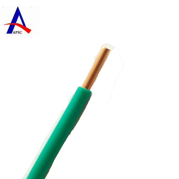 UL PVC insulated copper core cable copper wire with PVC coated
