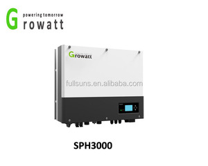 3KW max power solar less mppt inverter with built in battery