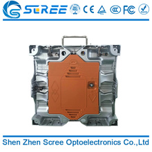 Hot selling outdoor P4 LED rental aluminium mold cabinet display with great price