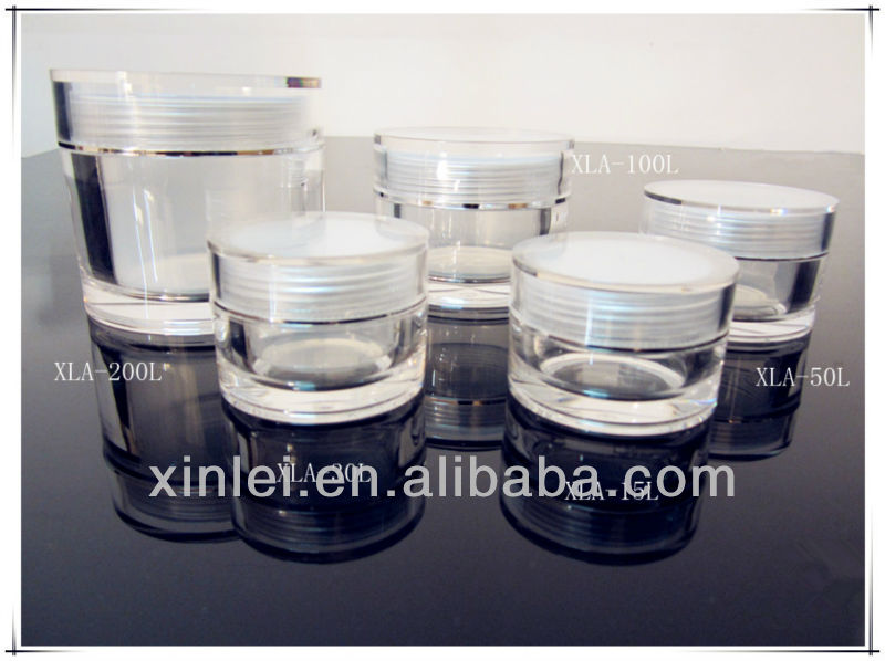 15g,30g,50g,100g,200g acrylic cosmetic bottle