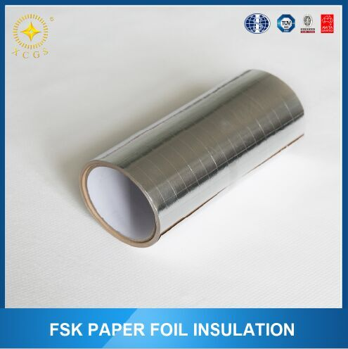 metallised pet scrim paper/fsk facing for duct wrap